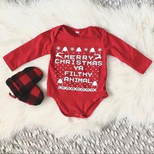NEW! (🌸2/$25🌸) Christmas Baby Onesie